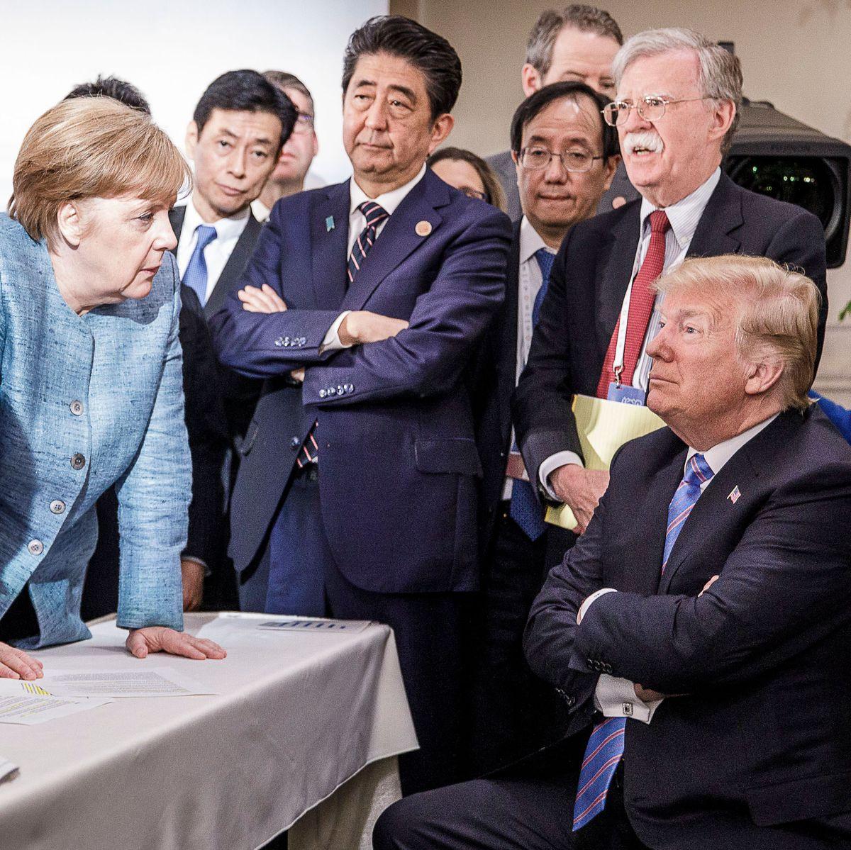 Trump Had Starburst Outburst With Merkel At G7 Summit