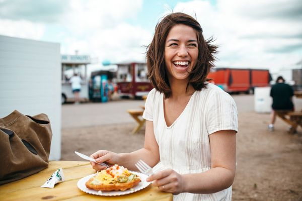 Molly Yeh Hits the County Fair for Sweet-Potato Fries and Frybread Tacos