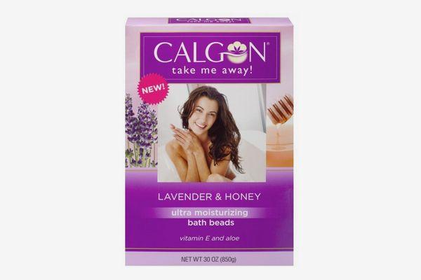 Calgon Ultra-Moisturizing Bath Beads, Lavender and Honey, 30-Ounce