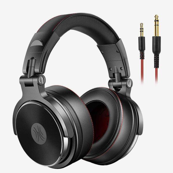 OneOdio Adapter-Free Closed-Back DJ Studio Headphones