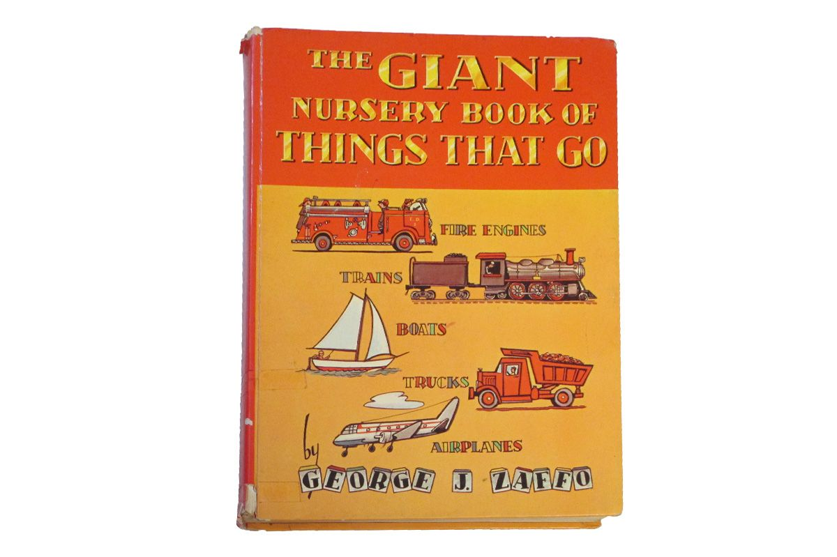 The Giant Nursery Book of Things That Go by George J. Zaffo (1960)