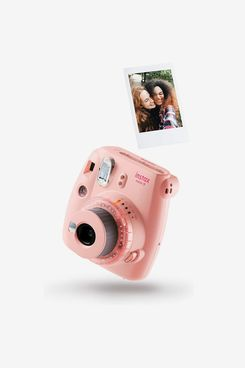instax mini 9 Clear Camera with 10 shots, Pink