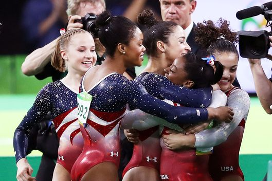 Team gold is just the start for wonderful USA women's gymnasts
