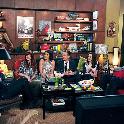 """Last Forever Parts One and Two"" ???€?""Ted finally finishes telling his kids the story of how he met their mother, on the special one-hour series finale of HOW I MET YOUR MOTHER, Monday, March 31 (8:00-9:00 PM, ET/PT) on the CBS Television Network.   Pictured: Jason Segel as Marshall,  Alyson Hannigan as Lily, Cobie Smulders as Robin, Neil Patrick Harris as Barney, Cristin Milioti as Tracy, Josh Radnor as Ted.  Photo: Ron P. Jaffe/Fox ?'?? 2014 Fox Television. All rights reserved"