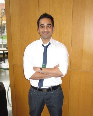 A Wharton student.