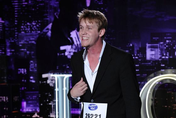 AMERICAN IDOL: St. Louis contestant Ethan Jones performs in front of the judges on AMERICAN IDOL airing Thursday, Feb. 2 (8:00-9:00 PM ET/PT) on FOX. CR: Michael Becker / FOX.