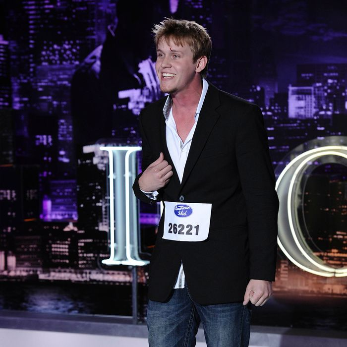 AMERICAN IDOL: St. Louis contestant Ethan Jones performs in front of the judges on AMERICAN IDOL airing Thursday, Feb. 2 (8:00-9:00 PM ET/PT) on FOX.