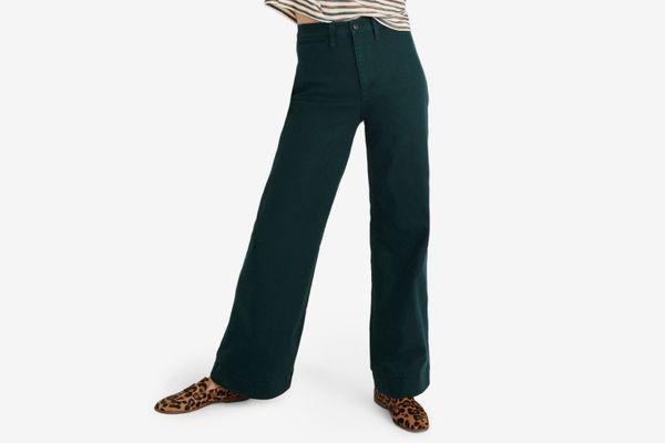 Madewell Emmett Wide Leg Pants
