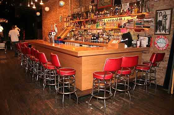 The current bar at the BPC.