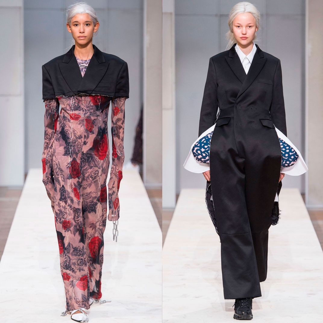 Cathy Horyn Fashion Review Of Comme Des Gar 231 Ons Spring 2019