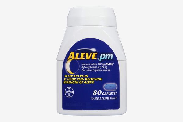 Aleve PM Pain Reliever and Nighttime Sleep-Aid Caplets, 80 count