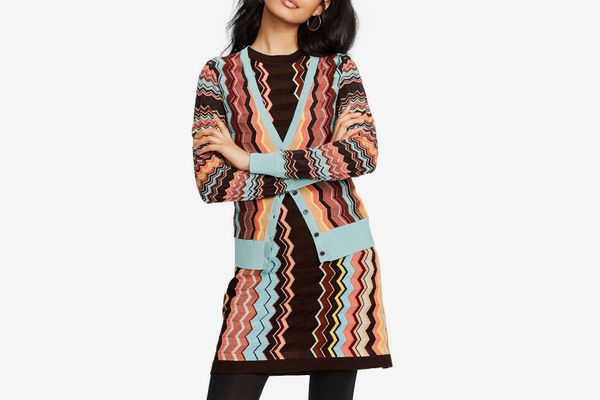 Missoni for Target Women's Colore Zig Zag Long Sleeve V-Neck Button-Front Cardigan