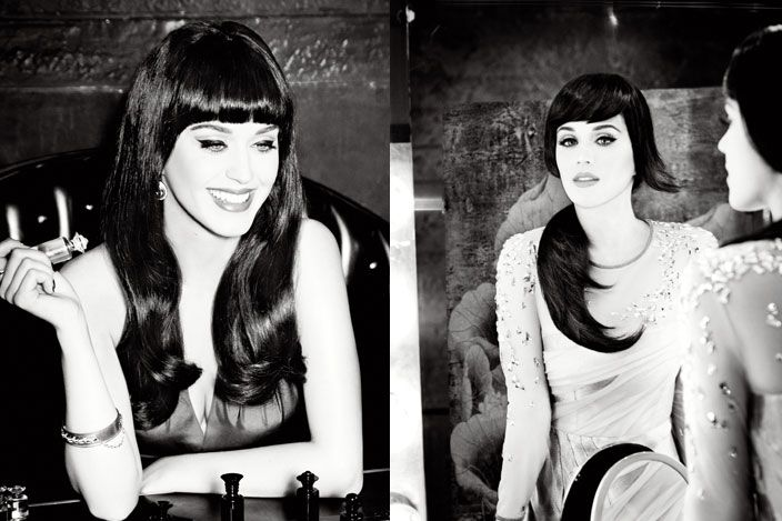 Katy Perry's ghd campaign.