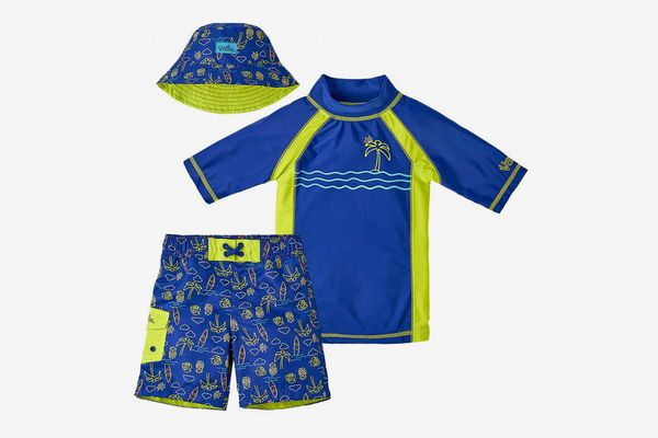 UV SKINZ UPF 50+ Boys' 3-Piece Swim Set