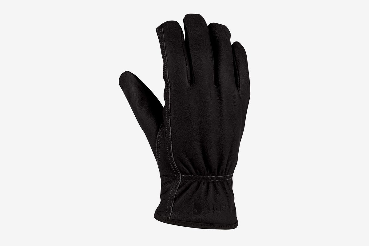 Mens Thermal Lined Super Soft Fine Leather Warm Winter Dress Gloves