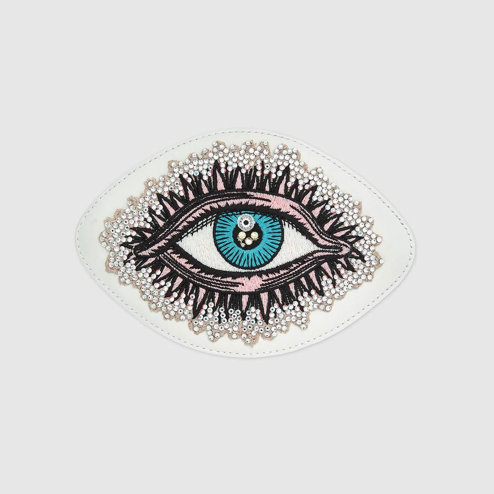 Embroidered Eye Applique