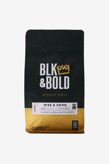 Blk & Bold Rise & GRND Medium Roast Whole Bean Blend