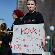 Students Protest Against Standardized Testing in Colorado