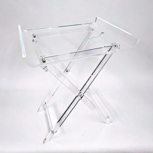 Designstyles Acrylic Folding Tray Table