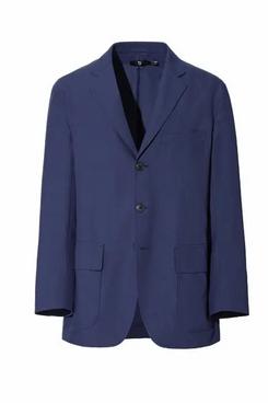 Uniqlo J+ Wool-Blend Oversized Jacket