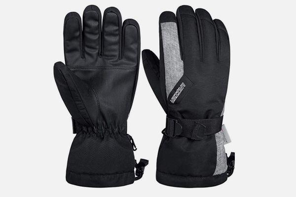 LANYI Waterproof Ski Thermal Gloves