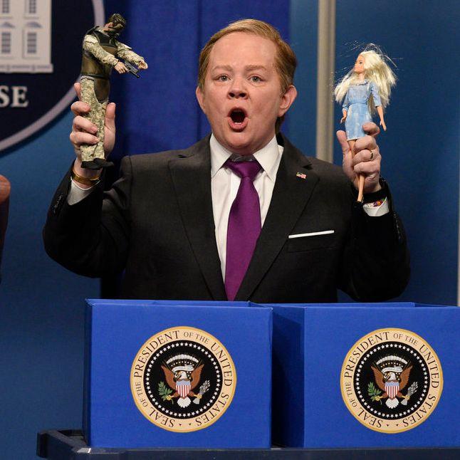 szépség nagykereskedő online itt Melissa McCarthy Rages As Sean Spicer on SNL