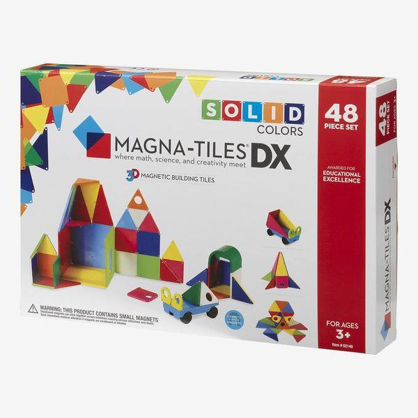 Magna-Tiles Solid Colors 48 Piece Set