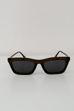 Reality Eyewear Bowery Sunglasses in Olive