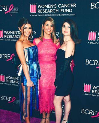 Olivia Jade, Lori Loughlin, and Isabella Rose.