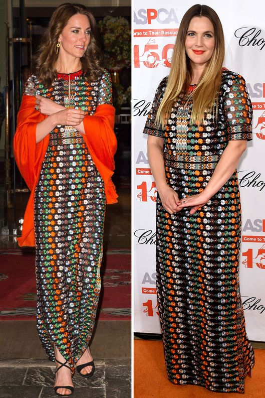 Kate Middleton and Drew Barrymore: Twins -- The Cut