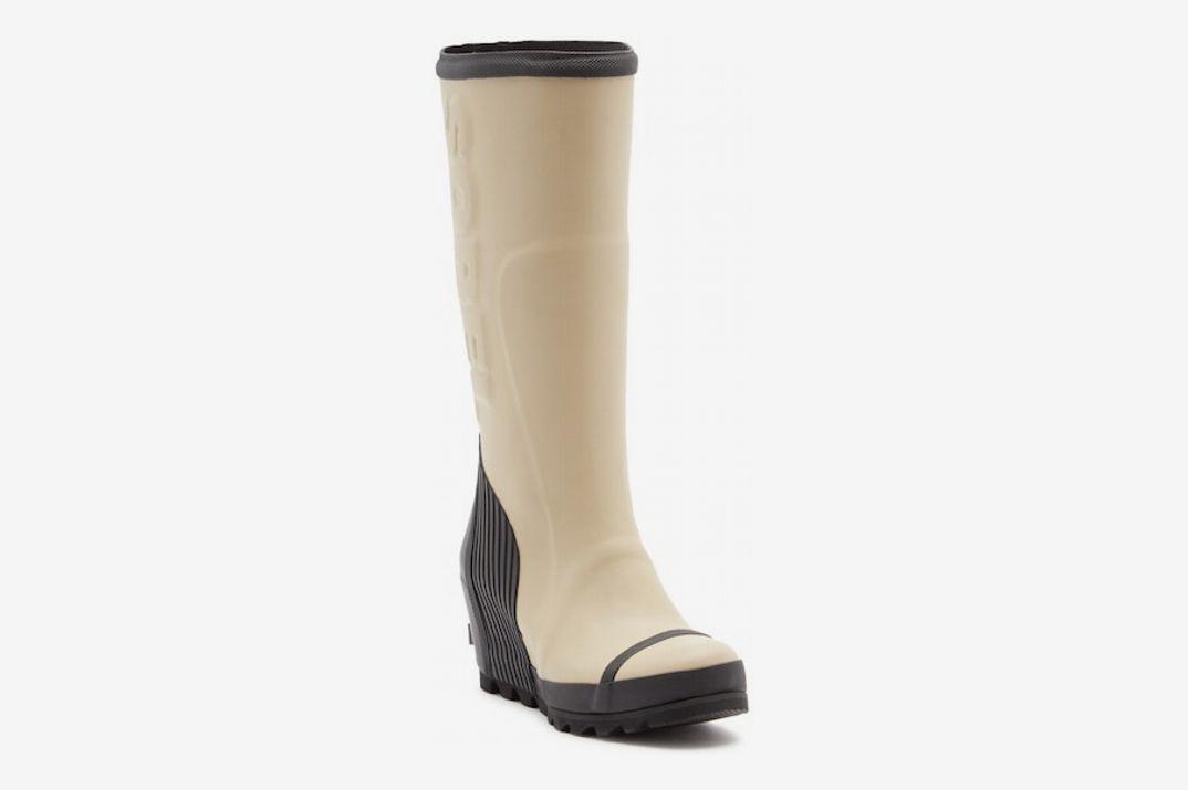 Sorel Joan Tall Waterproof Wedge Rain Boot