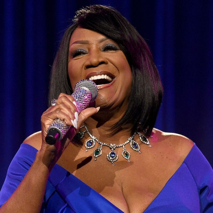 Patti LaBelle, shown without her 41-year-old boyfriend.