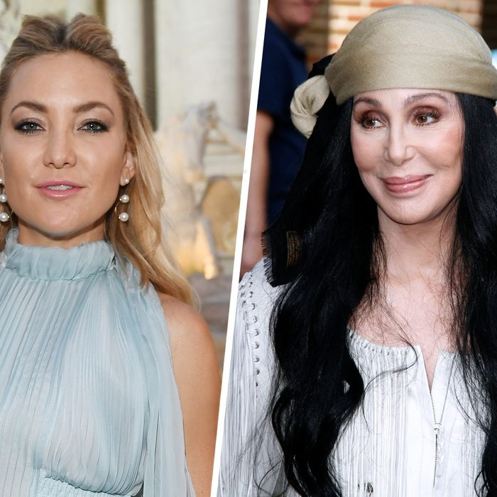 Kate Hudson and Cher.