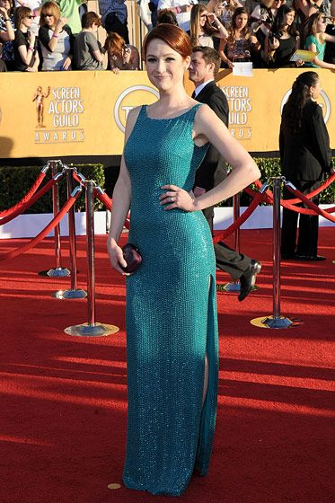 Ellie Kemper== 18th Annual Screen Actors Guild Awards - Arrivals== Shrine Auditorium, Los Angeles, CA== January 29, 2012== ?Patrick McMullan== Photo - ANDREAS BRANCH/PatrickMcMullan.com==
