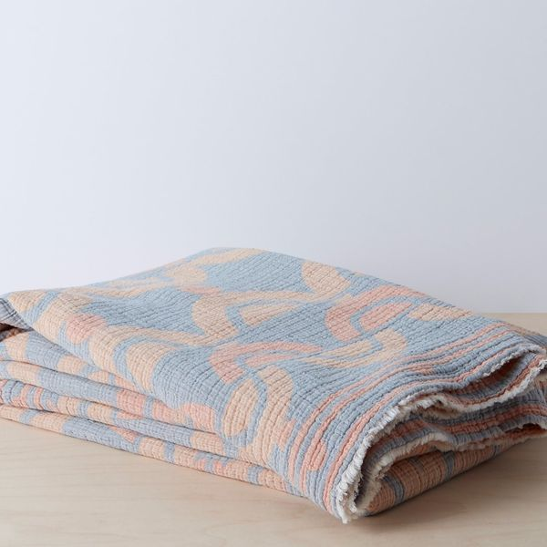 Allswell Organic Mod Geo Blanket (Full/Queen)
