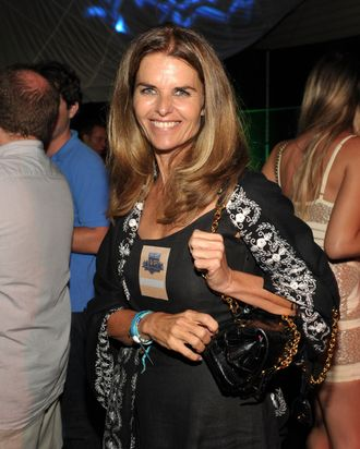 LOS ANGELES, CA - SEPTEMBER 03: Maria Shriver attends First-Ever Call of Duty XP at the Stages at Playa Vista on September 3, 2011 in Los Angeles, California. (Photo by John Shearer/Getty Images for Activision)