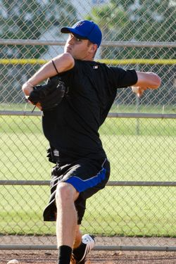 30 July 2011:  New York Mets pitching prospect Zack Wheeler works out at the Mets training facility in Port St Lucie, Florida, Friday,July 29, 2011.  Wheeler was obtained from the S.F. Giants in a trade for Carlos Beltran. (Newscom TagID: iconphotostwo956298) [Photo via Newscom]
