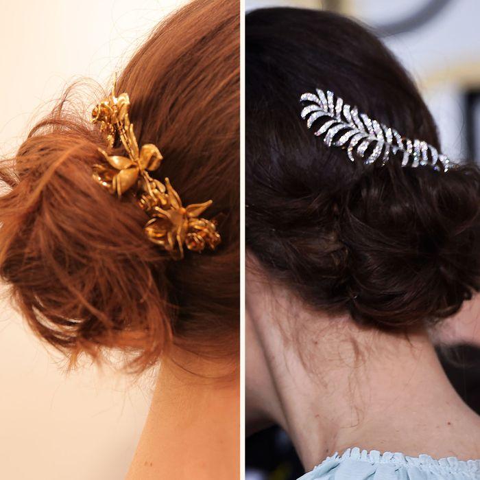 3 Easy Fancy Ways To Wear A Hair Comb Like Keira Knightley