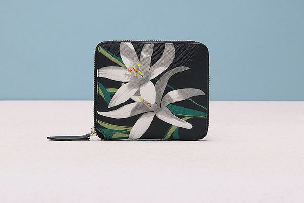 DVF Small Zip-Around Wallet