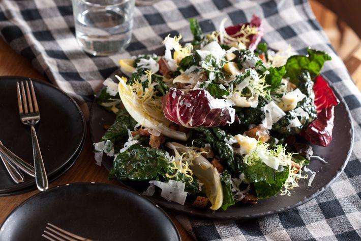 Seasonal winter salad.