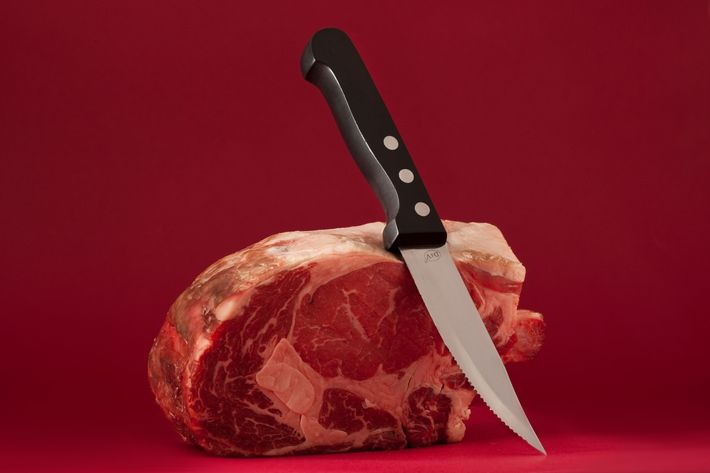 The Dutch's knives are just like it's rib eye for two: no nonsense.