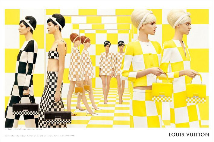 Louis Vuitton's spring 2013 ads.