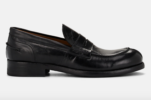Barneys New York Leather College Loafers