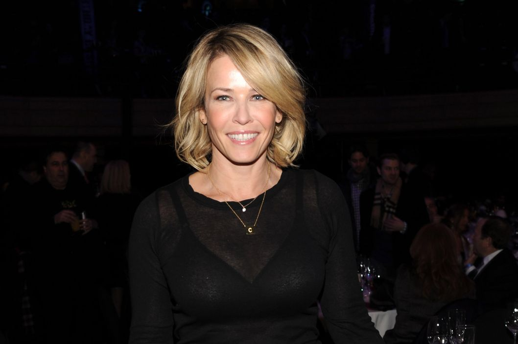 "Chelsea Handler attends ""Howard Stern's Birthday Bash"" presented by SiriusXM, produced by Howard Stern Productions at Hammerstein Ballroom on January 31, 2014 in New York City."