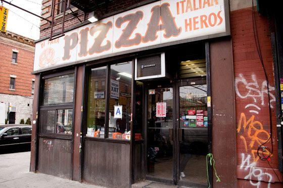 Di Fara pizza.
