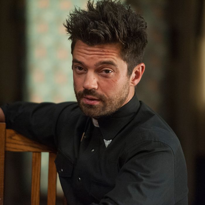 Dominic Cooper as Jesse Custer - Preacher _ Season 1, Episode 9 - Photo Credit: Lewis Jacobs/Sony Pictures Television/AMC