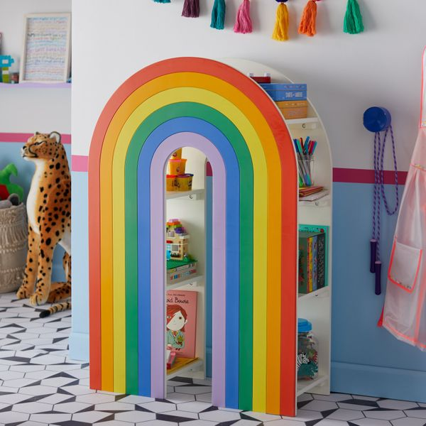 Drew Barrymore Flower Kids Rainbow Bookcase