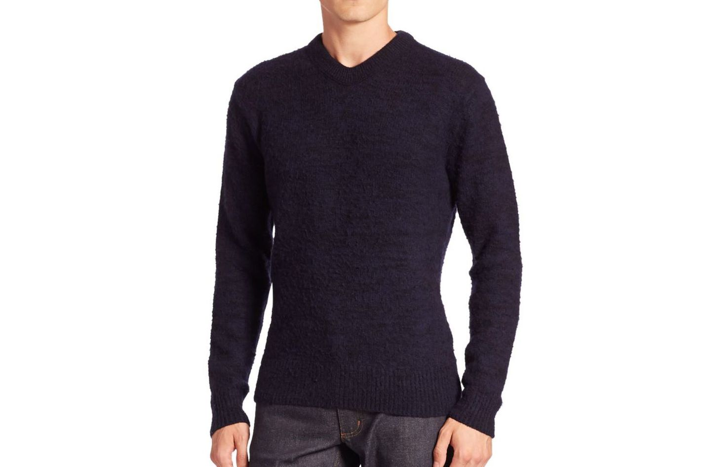 Acne Studios V-neck long sleeve pullover