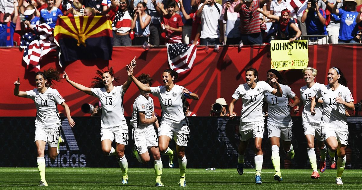 [Tvt News]A Win in the Women's World Cup Would Mean So Much to the Future of American Sports