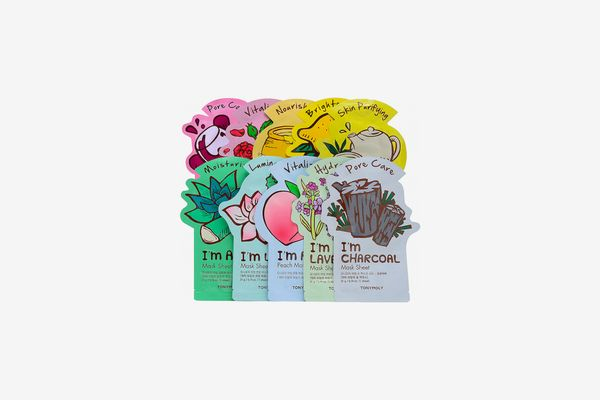 Ready, Set, Glow! I'm Sheet Mask 10 Pack